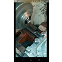 汽车变速箱齿轮(20crmni)渗碳淬火件HRC58-62精车内孔高精度氮化硼刀具CBN数控刀具