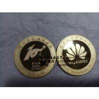 生产厂家定制纪念章 金属工艺品 纯银 银质金属纪念章