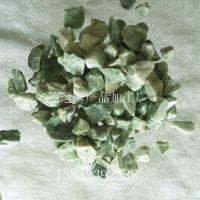 厂家现货供应五彩石 水磨石绿石子 胶粘石 洗石米 鱼缸石子