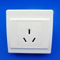 新品热卖 明装三极16A墙壁插座 三极电源插座空调插座