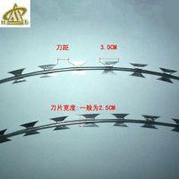防锈304刀片刺网 监狱防爬围墙网 BTO-22价格