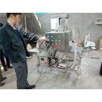 雪花鸡柳上雪花片机 上糠上屑机 有为机械主打产品