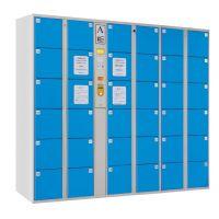 安存电子超市条码式电子存包柜