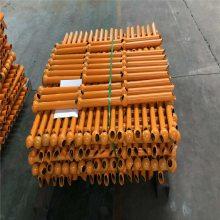 污水厂平台防护栏 底盘球形立柱 栏杆扶手