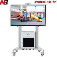NB柜子新款AVG1800-100-1P触摸一体机电视移动推车支架
