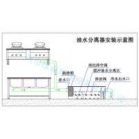 餐饮油污水处理设备|酒楼、厨房油水分离器原理|绿森全自动油污水分离器厂家