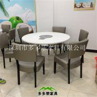 专业定制椰子鸡餐桌椅 火锅餐桌椅 多多乐家具