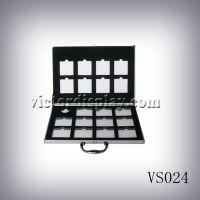 悦科特厂家定制石材样品铝箱VS024,可机加工定制EVA石材样品盒