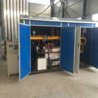 河北厂家供应天然气减压供气设备 1000立方每小时一用一备CNG减压撬 LNG气化调压装置