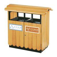 进口松木垃圾桶,校园垃圾桶