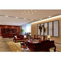 东湖区投资公司办公室装修案例