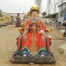 河南云峰佛像雕塑厂直销 观音老母 地藏老母 玻璃钢树脂神像佛像