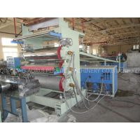 Double Screw Extruder PVC Plastic Sheet Making Machine For Furniture Decoration