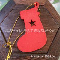 彩色圣诞节 木质精美圣诞节礼品/挂摆饰