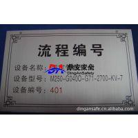 厂家直销各种材质金属标牌,国标标准设计制作 提供安装服务