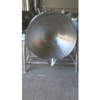 供应强大600L不锈钢羊头蒸煮锅