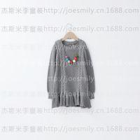 订货会童装毛衣女童儿童小麻花长款连衣裙2014秋冬新款 5390