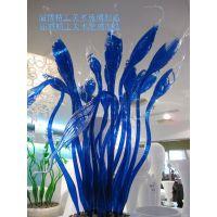厂家定制水景琉璃装饰品琉璃艺术品 宾馆 KTV软装艺术品摆设