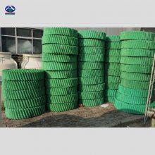 重庆水泥电厂循环水冷却塔填料改性PVC散热片S波形价格 河北华强