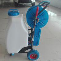 大棚用新款电动喷雾器 农用高压电动喷雾器 大成推车打药机