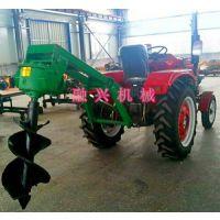拖拉机带的植树机(图)_种果树用挖坑机_牡丹江挖坑机