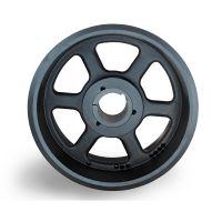 spb400-10电机皮带轮生产厂家选无锡帛扬锥套皮带轮厂家