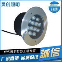 巧夺天工的设计的白光LED地埋灯高亮度散热好更耐用生产厂家-推荐灵创照明