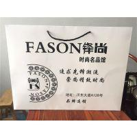 义乌厂家供应手提纸袋定做服装袋印刷logo定制