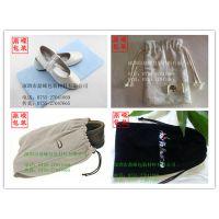 供应【厂家直销】高档刺绣绒布袋 高档机锈LOGO各种布袋
