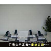 中山厂家生产亚克力透明手机托盘展示架 亚克力彩妆展示架