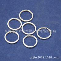 25mm不锈钢平圈 U盘钥匙圈挂件 玩家公仔钥匙扣