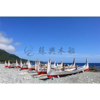 6m欧式手划船 欧洲风格旅游观光船 木质装饰船 欧式木船 款式可定制