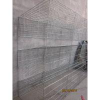 现货出售3层12位 40斤白色镀锌子母兔笼 大尺寸兔子笼