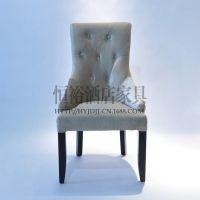 欧式椅子 沙发椅子 布艺椅子 餐椅 酒店餐椅 餐厅家具 咖啡厅椅子