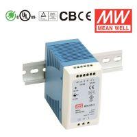 明纬MDR-100-48台湾明纬电源正品牌100W低空载损耗DIN导轨电源