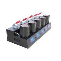 福建 MP150*5 五工位烤杯机 11OZ烤杯机 多功能热转印机 供应
