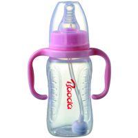 oem代工- DP107 标口pp奶瓶 有柄pp奶瓶 聚丙烯奶瓶 塑料奶瓶300ml