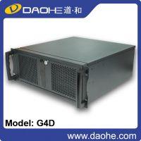 道和服务器机箱 4U工控机箱 非热插拔机箱 机架式服务器机箱