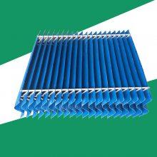 多波收水器的波峰和叶片间距是多少?华强 PVC产品