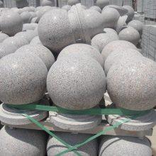 高光度花岗岩车档石球,花岗岩车档石球,花岗岩路障石球价格