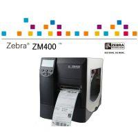 美国斑马Zebra ZM400热转印/热敏 效果完美升级替代 墨轮打码机