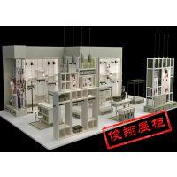 俊翔展柜定制各种卖场商铺整体空间展示陈列优质密度板装饰装修优等品