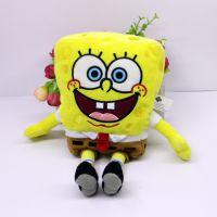 海绵宝宝创意公仔毛绒玩具卡通玩偶娃娃礼物厂家定制