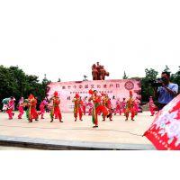 荆州经典非物质文化遗产项目亮相中山公园