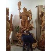 供应超大型根雕巨型关公雕像神像 红豆杉摆件根雕木雕工艺品风水摆件