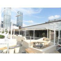 东荣将喷雾设备逐渐普及到露天餐厅降温工程|生态酒店降温