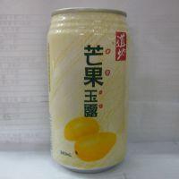 香港进口饮料 香港道地 芒果玉露饮料 果肉型饮料340mlX24罐/箱