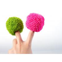 彩色聚酯纤维清洁球可替代钢丝球的完美不粘锅专用清洁球