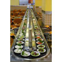 自助回转餐厅设备/回转寿司电动餐桌|回转火锅餐桌|回转调速餐桌