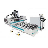 木工排钻加工中心机_板材加工排钻设备